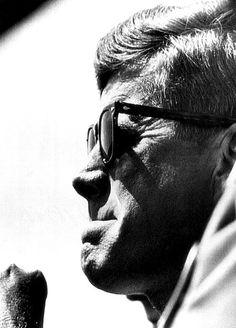John F. Kennedy, Watches Canvas Print / Canvas Art by Everett