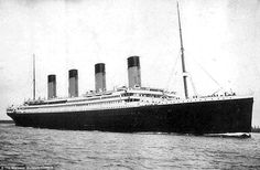 Titanic, whose fate heralds the end of the Industrial Era