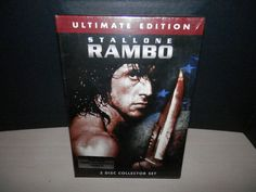 Rambo Trilogy (Ultimate Edition DVD Collection) (3-Disc Collector Set)