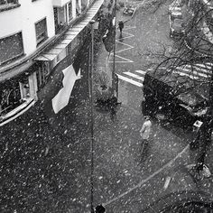 Snow - Nyon - Switzerland - Photo by yannbros - www.spiralps.ch