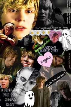 Evan Peters || Tate Langdon || American Horror Story || Murder House