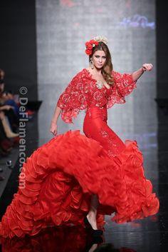 Fotografías Moda Flamenca - Simof 2014 - Atelier Rima 'Lluvia de Flores' Simof 2014 - Foto 19