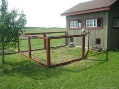 Building a Modular Chicken Fence