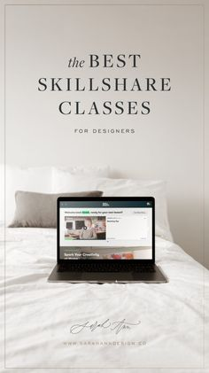 Interested in learning graphic design? Whether you're just starting out or you're an experienced designer, these Skillshare classes are a great way to hone your hone and pick up a few new skills. Take a look at my list of favorite Skillshare classes here! Design Basics, Class Design, Web Design, Graphic Design, Business Design, Creative Business, Business Tips, Online Business, Sketching Tips