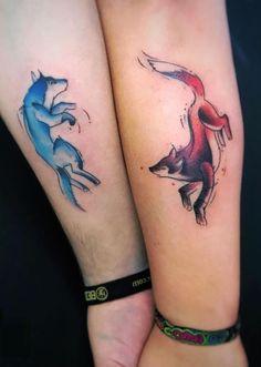 Die 25 Besten Bilder Von Bruder Tattoos Sister Tattoos Couple