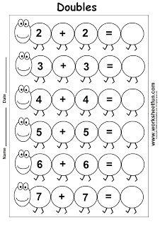 basic addition worksheets