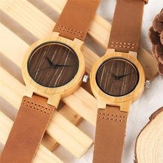 The Bobo Seahawk 2 [product type] - Bbrandz Unique Symbols, Couple Watch, Vintage Coffee, Wood Watch, Bamboo, Quartz, Unisex, Lovers, Designer Watches