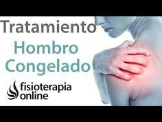 Hombro congelado. Tratamiento con ejercicios, auto masajes y estiramientos - YouTube