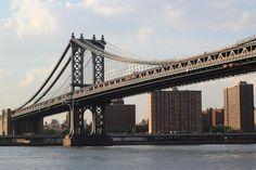 Manhattan Bridge over the East river, NYC