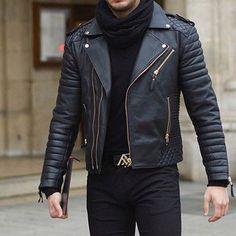 All black! Shop this look and be inspired at styleiswhat.com #styleiswhat @philippegazarstyle