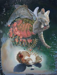 Entre a mitologia e a ficção científica na obra de Heidi Taillefer #art