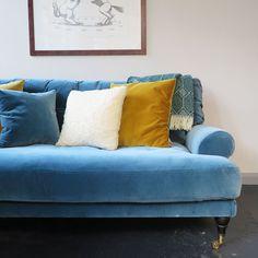 Blanca sofa is crafted using luxurious Italian velvet, made from 100% cotton. Scandinavian design. MeliMeli Velvet Furniture, Free Fabric Samples, Design Fields, Velvet Sofa, Seat Pads, Cotton Velvet, Wooden Flooring, Scandinavian Design, Seat Cushions