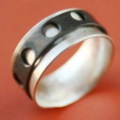 SALE Size 6 Film Spinner Ring by sudlow on Etsy, $50.00