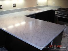 Zodiaq Countertop Reviews : Zodiaq+Countertop+Reviews Zodiaq? Coarse Carrara Woodbine Kitchen ...