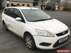 2010 FORD FOCUS STYLE 1.6 TDCI WHITE Spares or Repairs #ford #focusstyletdci #forsale #unitedkingdom