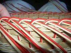 NÁVODY | COP - UKONČENÍ VEN Z KOŠE | pedig, dýnka, korálky, ubrousky,koše, kurzy, fotonávody Projects To Try, Weaving, Baskets, Hampers, Basket, Bag, Crocheting, Knitting Looms, Soil Texture