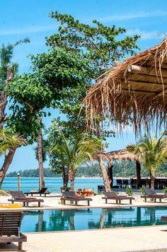 Banana Garden Beach, Koh Lanta, Krabi, Thailand Krabi Thailand, Marina Bay Sands, Banana, Beach, Garden, Travel, Garten, Viajes, The Beach
