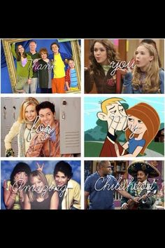 Childhood! I miss Hannah/Miley, Lily, and Oliver the most!!