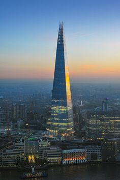 The views from this building and the architecture | The Shard, London