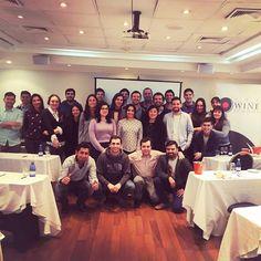 FELIZ DÍA NACIONAL DEL VINO!!!  Les desea The Wine School Chile junto al orgulloso grupo que realizó su certificación en Vinos de Nivel 1 de la WSET (Wine & Spirit Education Trust) el día de ayer  #DiaNacionalDelVino #DiaDelVino #DiaDelVinoChileno #Winelover #NosGustaElVino #Maridaje #Vinos #VinoChileno #EducacionEnVinos #AmantesDelVino