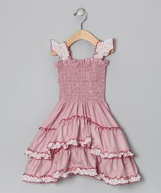 Take a look at this Red Angel Dress - Toddler & Girls by 4EverPrincess on #zulily today!