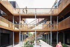 35 Logements sociaux à ossature bois à Montreuil (93) - D'architectures