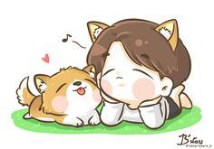 BaekHyun & Ryong fanart :)