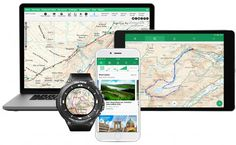ViewRanger's free app turns your iPhone and Android phone into fully featured outdoors GPS with free UK maps and OS mapping available. Os Maps, St Jacques, Walking Routes, Saint James, Gps Navigation, App Store, Long Distance, Google Play, Kindle
