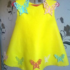 Make a Cute Butterfly Dress for a Little Girl via @Guidecentral