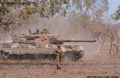 Australian Army Ex-MBT LEOPARD AS1