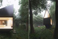 Cabin In The Forest von Tomek Michalski