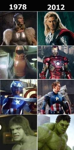 hahaha captain america looks ridiculous... how did people even get through the 70's?