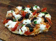 Mini Pinsa ricetta speciale Mini-Pinsa special recipe #pizza