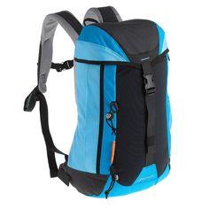£9.99 - Backpacks - Forclaz 20 Day travel Backpack, Blue/Black - QUECHUA