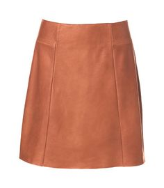 Image 6 of A-LINE LEATHER SKIRT from Zara