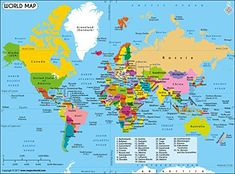 Photos World Map.Printable World Map Labeled World Map See Map Details From Ruvur