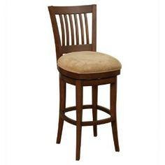 "Check out the American Heritage 134881MC-C07 Westin 34"" Seat Bar Stool in Mocha priced at $349.95 at Homeclick.com."