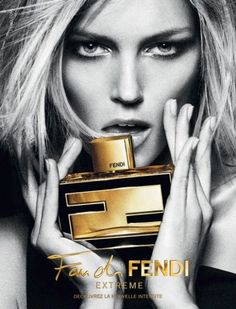 Anja Rubik for Fendi