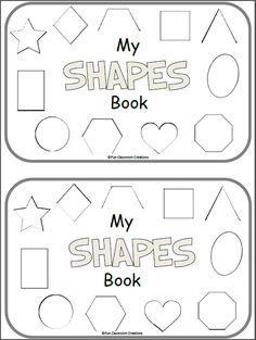 Free Shapes Mini-Book