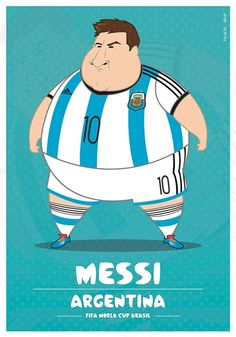 If World Cup Soccer Players Were Fat... - DesignTAXI.com