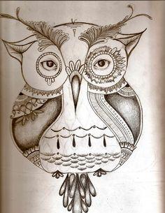 Owl Drawings Tumblr Owl drawing  tumblr: animales