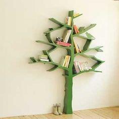Adorable Book Shelf Idea for jungle nursery!!