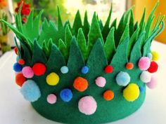 Easter bonnets for boys - with directions