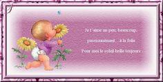 cartes postales tendresse Winnie The Pooh, Creations, Disney Characters, Cards, Winnie The Pooh Ears, Pooh Bear