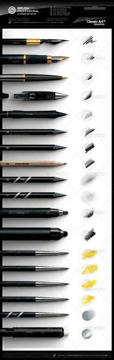 GraphicRiver Brush Pack Professional
