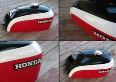 Bike painting ideas motorcycle tank 15 Ideas for 2020 Retro Motorcycle Helmets, Tracker Motorcycle, Motorcycle Paint Jobs, Motorcycle Tank, Motorcycle Style, Dominator Scrambler, Cx500 Cafe, Sportster Cafe Racer, Cafe Racer Honda