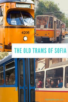 Sofia buses, trams, trolleys and metro lines. Ticket prices, daily passes and how to buy a ticket in Sofia. What is the fine for riding without a ticket? Sofia Bulgaria, Public Transport, Travel Guide, Transportation, Old Things, Travel Guide Books