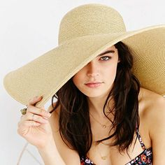 fffaba97 13 Summer Style Essentials for Every Budget Floppy Straw Hat, Millinery Hats,  Girl With