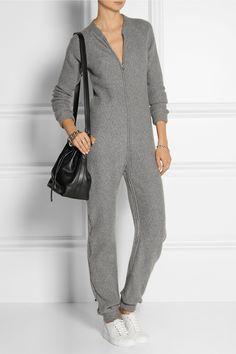 The Elder Statesman|Itsa One Zee cashmere jumpsuit|NET-A-PORTER.COM