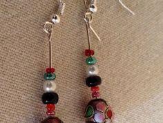 Earrings - Kiwi Christmas BBX024